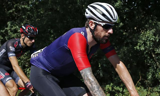 The Tour de France winner Bradley Wiggins rode on the A63 in May 2015