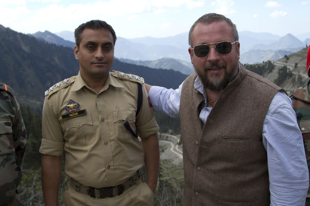 "Shane Smith in the ""World's Most Dangerous Border"" segment of the ""VICE"" episode, ""Bad Borders."""