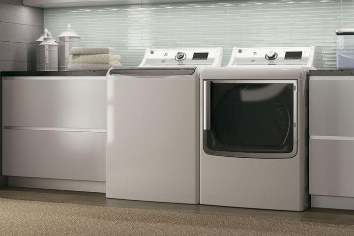 how to open a ge washer machine