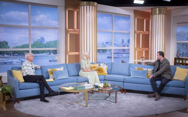 Daniel Mays spoke to Phillip Schofield and Holly Willoughby on This Morning (Photo: S Meddle/ITV/Shutterstock)