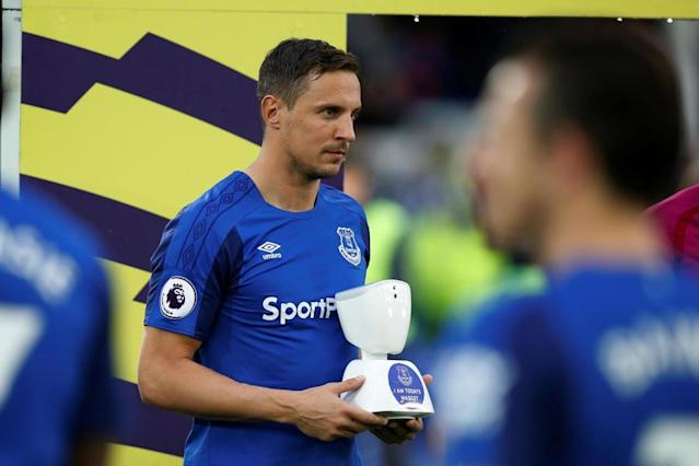 Everton make Premier League history with first robot mascot