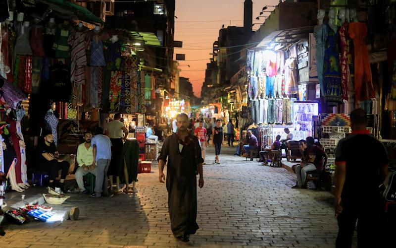 The Khan el-Khalili shopping area in old Cairo, Egypt - REUTERS/Amr Abdallah Dalsh