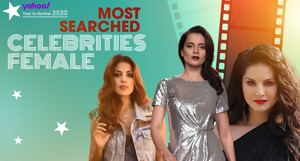 10 Most Searched Female Celebrities of 2020