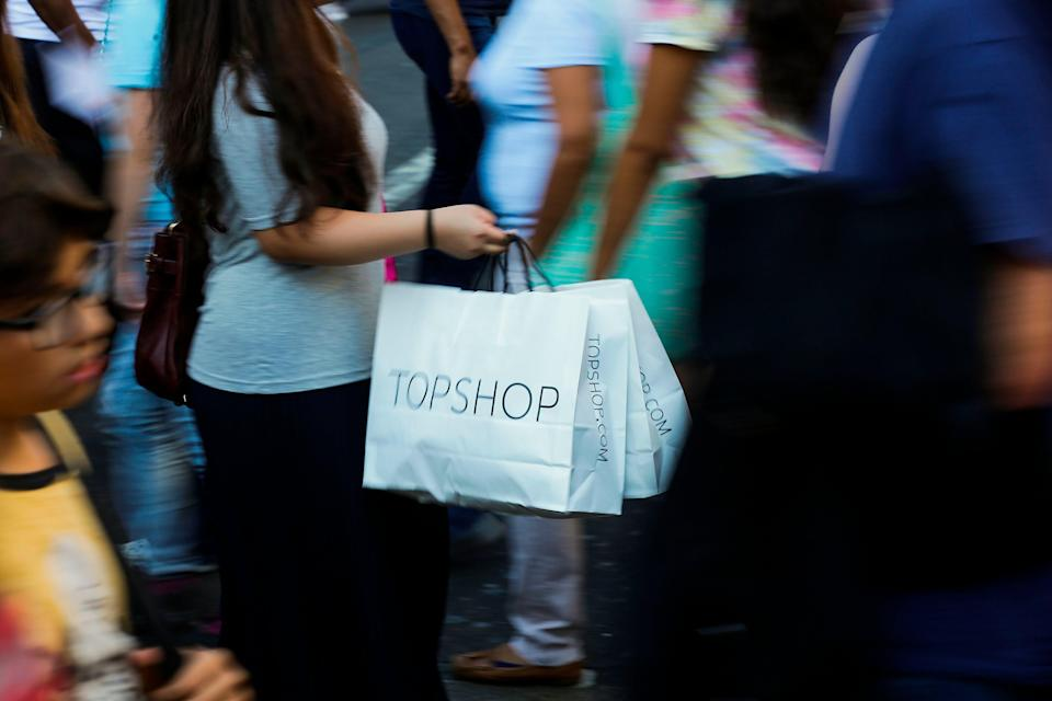 After having an epiphany at the Oxford Circus Topshop, Hannah Rochell has not set foot in a fast fashion store for over two years (AFP via Getty Images)