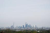 FILE PHOTO: A general view of The Shard and the financial district in London