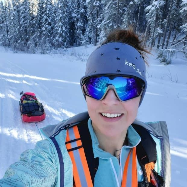 Jessica Leska has been training for the run for months.
