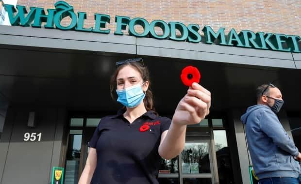 Whole Foods backs down on banning poppies at work