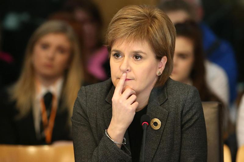Nicola Sturgeon: Independence bid: PA
