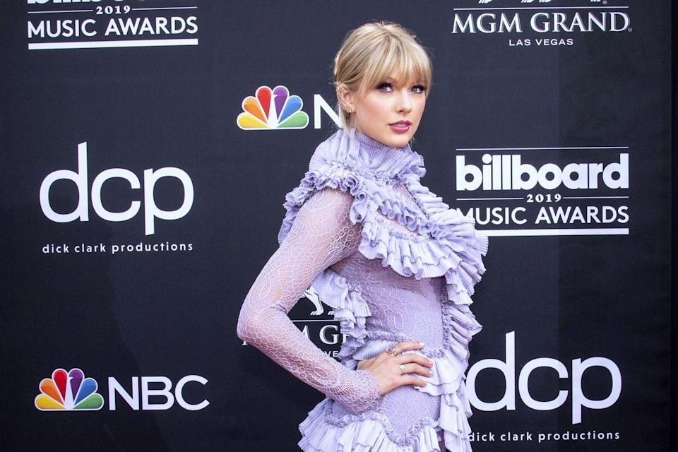 "<p>Tay grew up on a Christmas tree farm, which also happens to be where she worked her very first job. She told <em><a href=""https://www.esquire.com/entertainment/music/a30491/taylor-swift-1114/"" rel=""nofollow noopener"" target=""_blank"" data-ylk=""slk:Esquire"" class=""link rapid-noclick-resp"">Esquire</a> </em>in 2014 that she picked praying-mantis pods off of Christmas trees to make sure they didn't hatch in people's houses. <strong><br></strong></p>"