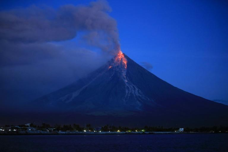 Despite the danger, hundreds of tourists are flocking to Legazpi and nearby towns to watch the spectacular eruption up close