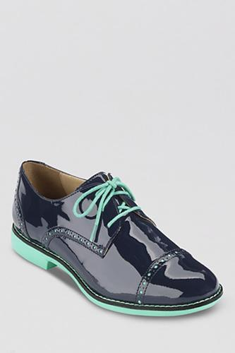 """<div class=""""caption-credit""""> Photo by: Cole Haan</div><div class=""""caption-title""""></div><b>Cole Haan</b> Gramercy Oxfords, $138.60, available at <a rel=""""nofollow"""" href=""""http://www.refinery29.com/oxford-shoes"""" target=""""_blank"""">Bloomingdale's</a>."""