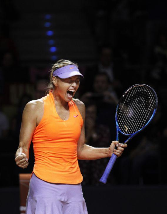 <p>La Sharapova ha vinto l'appello per la positività al meldonium riscontrata nel corso di un test antidoping durante gli Australian Open e la sua squalifica è passata da due anni a 15 mesi. (Photo by Adam Pretty/Bongarts/Getty Images) </p>