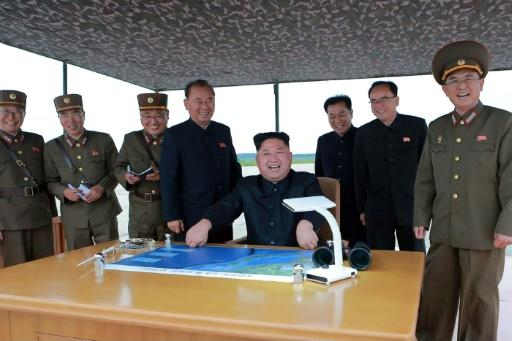 North Korean leader Kim Jong Un oversees the launch of a ballistic missile that overflew JapanMore