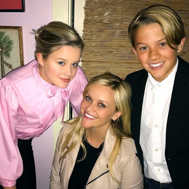 """""""Proud Mom"""" Reese Witherspoon Celebrates Her 41st Birthday With Ava and Deacon"""