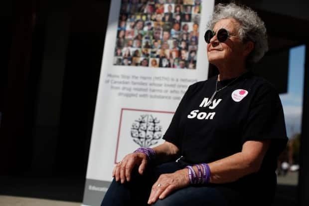 Leslie McBain, co-founder of Moms Stop the Harm, lost her son Jordan Miller to an overdose in 2014. She says the key to successful addiction treatment is offering choice. (THE CANADIAN PRESS/Chad Hipolito - image credit)