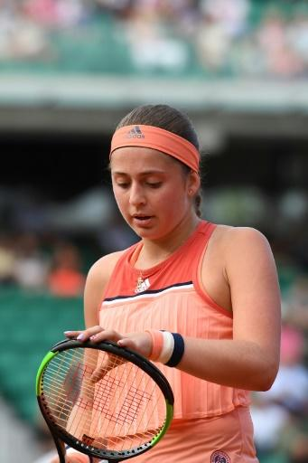 A short title defence: Jelena Ostapenko's reign as French Open champion lasted less than a day of the 2018 event