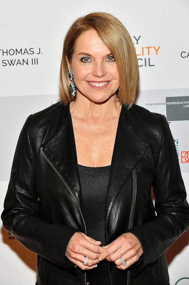 "Katie Couric attends Family Equality Council's ""Night at the Pier"" at Pier 60 on May 7, 2018, in New York City. (Photo: Slaven Vlasic/Getty Images for Family Equality Council)"