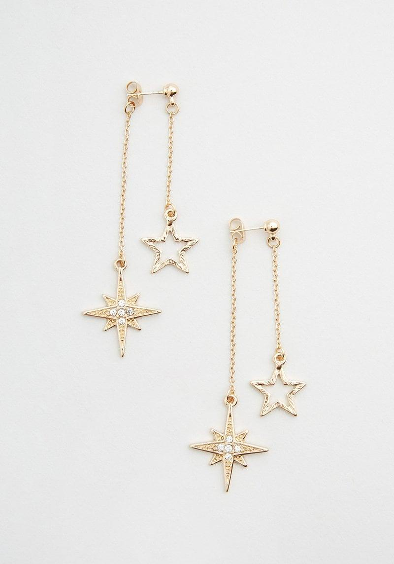 <p>If your BFF connects with the stars, they'll love these stylish <span>Celestial Stardust Dangle Earrings</span> ($19). It's such a cute way to pay homage to their interests.</p>