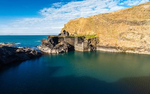 The Blue Lagoon in Abereiddi - Credit: AP