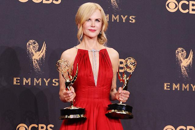 Nicole Kidman is speaking out about domestic violence again. (Photo: Jason LaVeris/Getty Images)