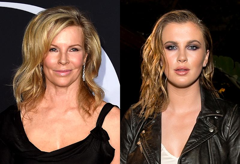 There is no question that Kim Basinger and Ireland Baldwin are related . (Photos: Getty Images)