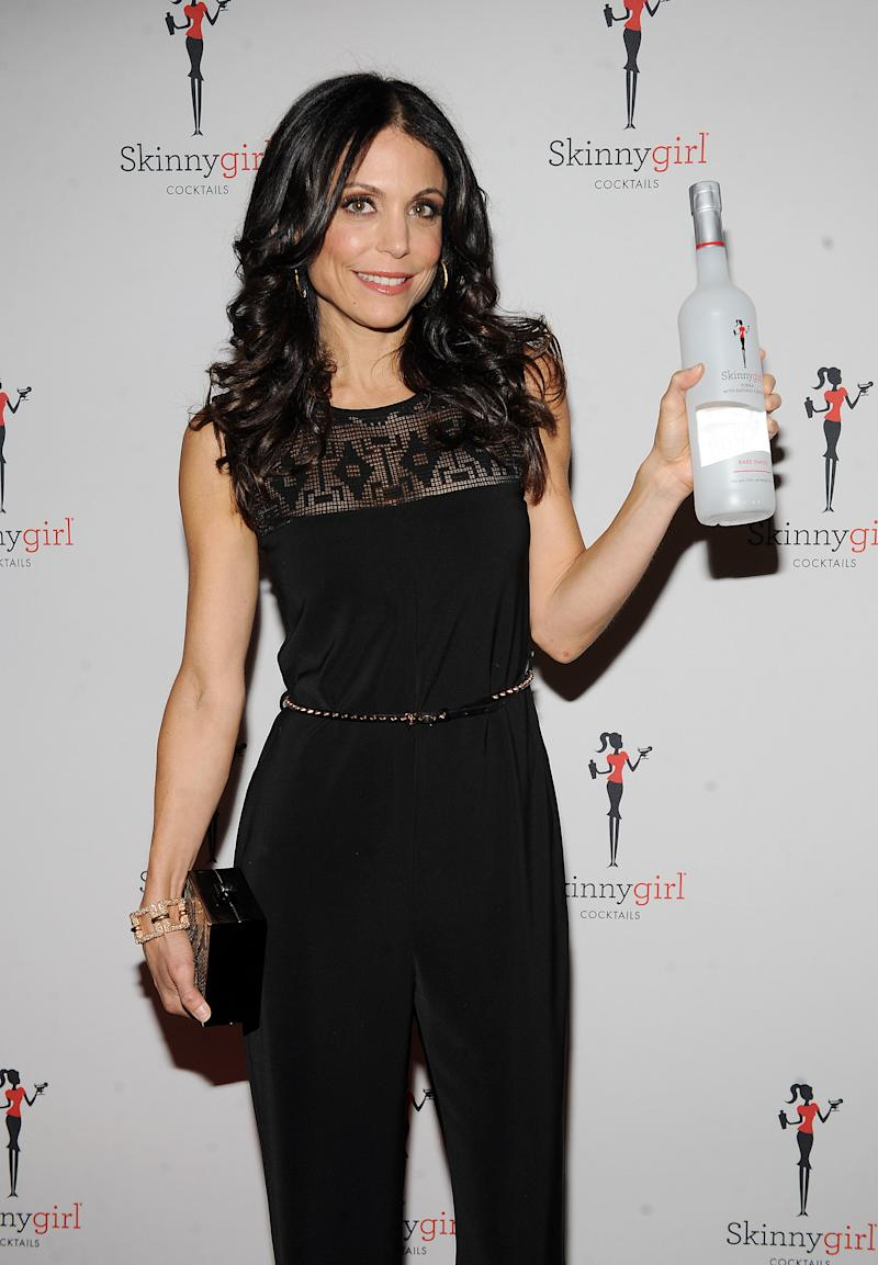 "FILE - This Oct. 12, 2012 file photo originally released by Skinnygirl Cocktails shows TV personality Bethenny Frankel at the Skinnygirl Cocktails event during the New York City Wine & Food Festival in New York. Frankel plans to expand her Skinnygirl line of wine and spirits and power bars to include more food products. Frankel, whose entrepreneurial reach also includes diet books and videos, and a novel, had a six-city run of ""bethenny"" on Fox-owned stations last year. The show will air in cities across the country this fall.  (AP Photo/Skinnygirl Cocktails, Scott Gries)"