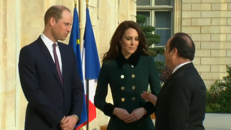 Avant le Brexit, Kate et William viennent réaffirmer les liens entre Londres et Paris