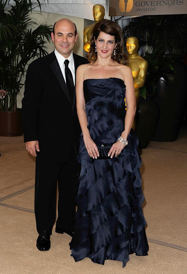 "<a href=""http://movies.yahoo.com/movie/contributor/1804495813"">Ian Gomez</a> and <a href=""http://movies.yahoo.com/movie/contributor/1804536542"">Nia Vardalos</a> at the Academy of Motion Picture Arts and Sciences' Inaugural Governors Awards - 11/14/2009"