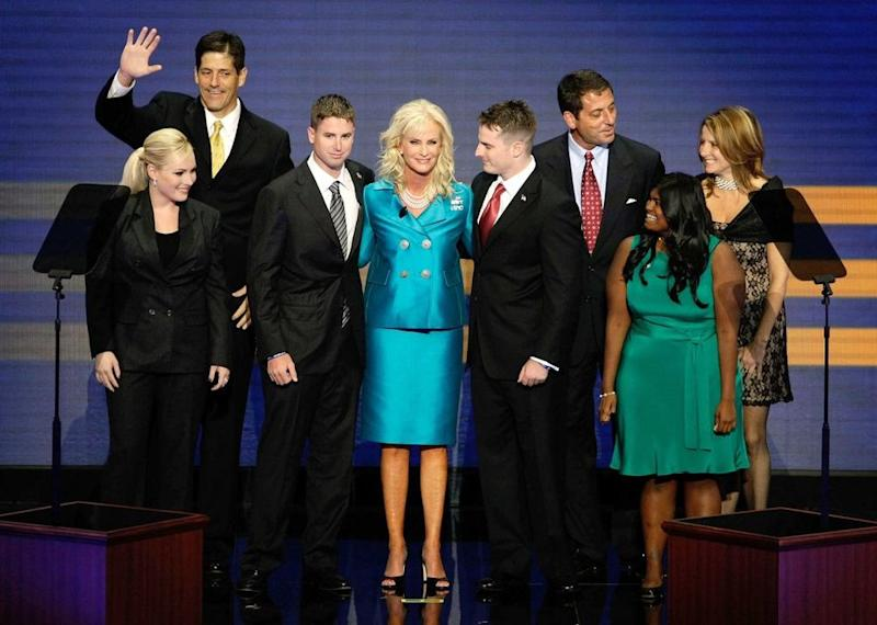 The McCain family at the 2008 Republican National Convention | Alex Wong/Getty
