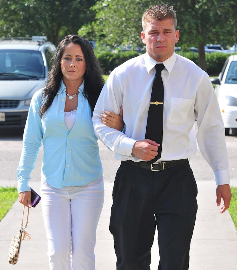 Jenelle Evans and Nathan Griffith | Splash News