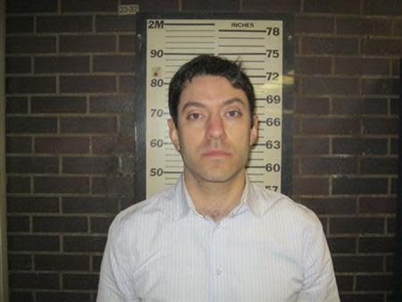 CNN producer Yon Pomrenze, 35, is pictured in this booking photo handout courtesy of Port Authority of New York. REUTERS/Port Authority of New York/Handout