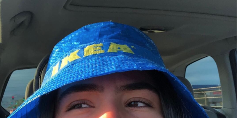 Ikea Is Selling Bucket Hats Made From Their Iconic Shopping Bags