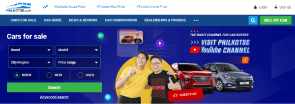 where to buy used cars philippines - philkotse