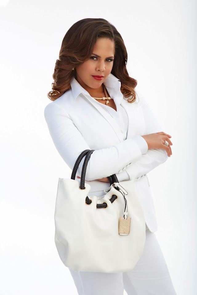 "Lenora Crichlow as Gigi in ABC's ""Back in the Game."""