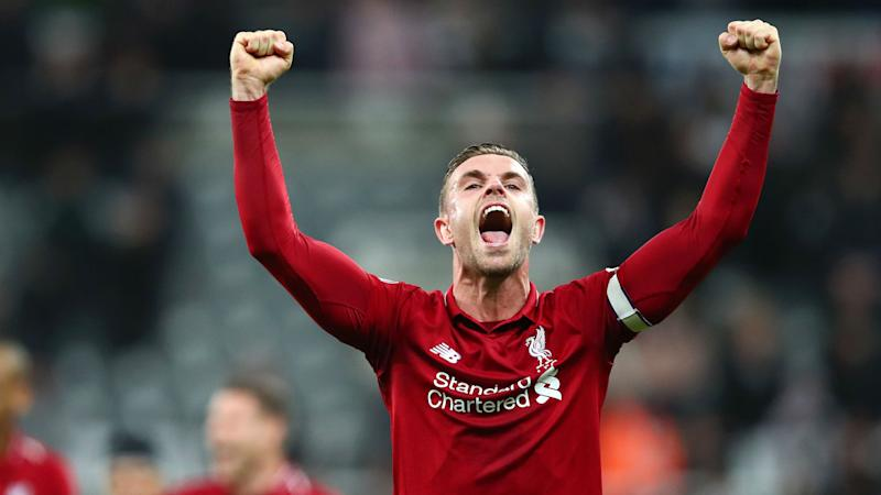 Jordan Henderson Liverpool Newcastle Premier League 2019