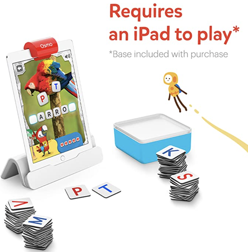 PHOTO: Amazon. Genius Starter Kit for iPad, Hands-On Learning Games, Ages 6-10