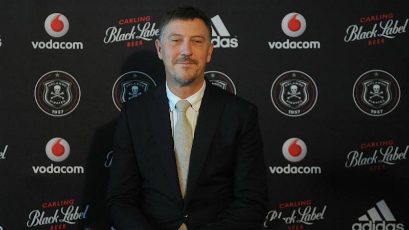 Orlando Pirates coach Jonevret happy to move further away from relegation zone