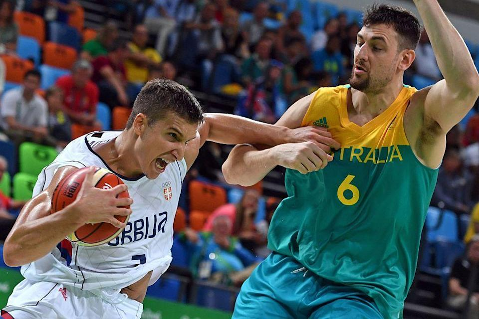 """<p>A group of Australian athletes were fined for altering their credentials at the semifinal basketball game between Australia and Serbia. While athletes typically get free seating, <a href=""""https://www.bostonglobe.com/sports/2016/08/20/australian-athletes-fined-for-switching-seats/MD5PqnCJ8vDYornP0wnH8H/story.html"""" rel=""""nofollow noopener"""" target=""""_blank"""" data-ylk=""""slk:the group tried to access better seating in the paid section"""" class=""""link rapid-noclick-resp"""">the group tried to access better seating in the paid section</a>, and ultimately had to pay $3,100 each for the violation.</p>"""