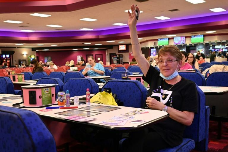 Bingo halls were among the venues opening up in Britain as restrictions were lifted