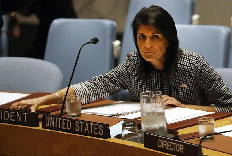 Unlike Mr Johnson's venture, Ms Haley's performance at the Security Council debate was meticulously prepared