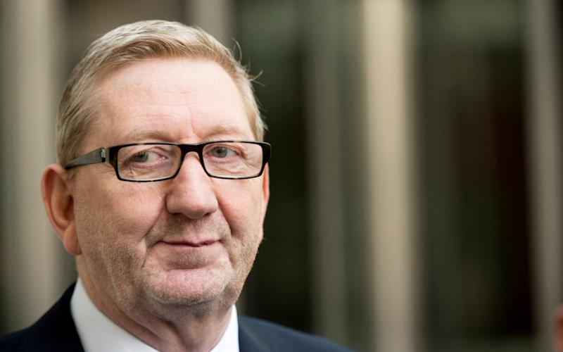 Len McCluskey has won the battle to remain as general secretary of Unite the union - Paul Grover