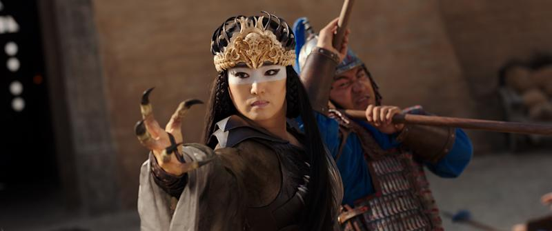 Gong Li as shape-shifting witch Xianniang in 'Mulan' (Photo: Disney Enterprises Inc.)