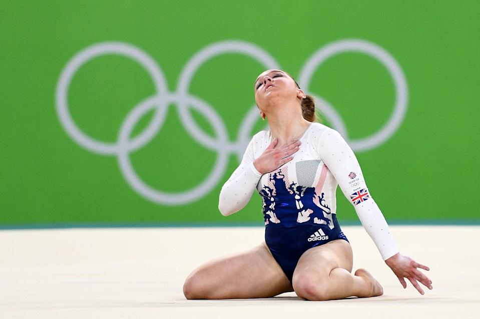 Great Britain's Amy Tinkler won bronze in the floor at the Rio Olympics aged just 16 but says issues with how she was treated has forced her to quit gymnastics