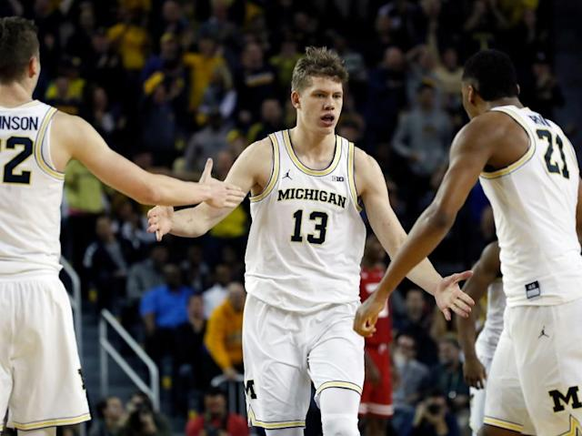 March Madness: Basketballer Wagner mit Michigan in Runde zwei