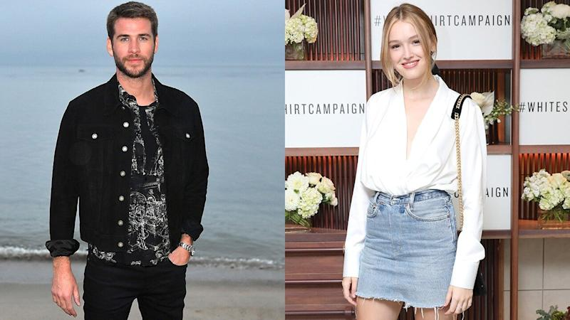 Liam Hemsworth Spotted Holding Hands With 'Dynasty&apos Star Maddison Brown