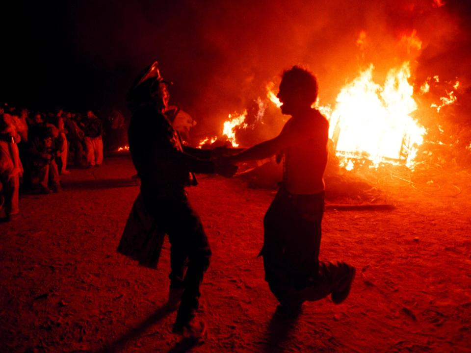 <p>Burning Man organisers considering making Covid vaccinations mandatory</p> (Getty Images)