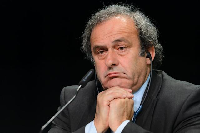 UEFA chief Michel Platini denies any wrongdoing over a $2 million payment he was given by FIFA in 2011 (AFP Photo/Fabrice Coffrini)