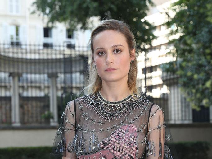 "Brie Larson is getting backlash for her new movie, ""Basmati Blues"""