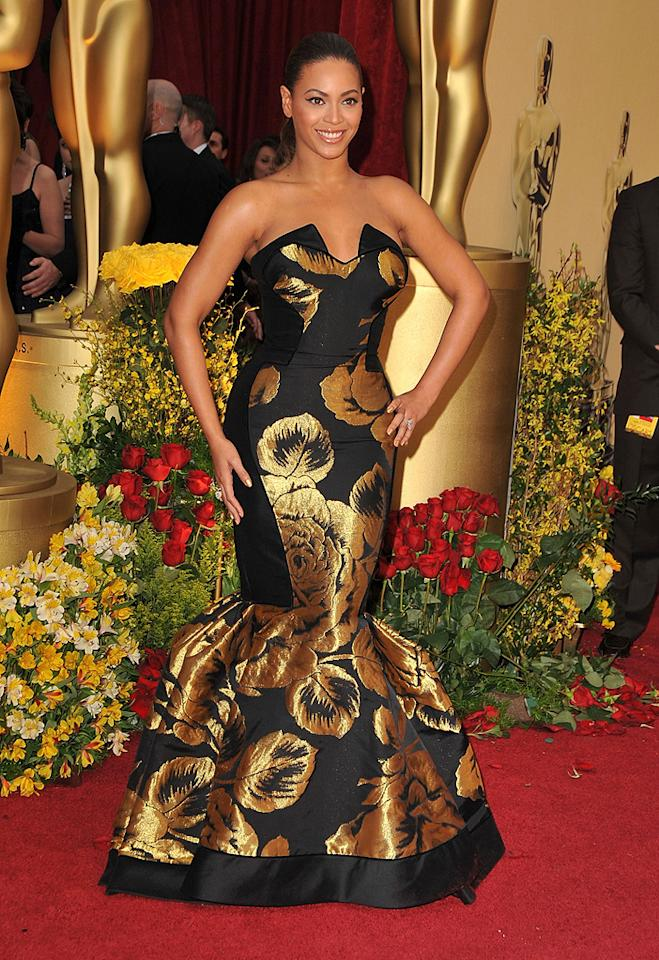 Beyonce Knowles at the 81st Annual Academy Awards - Feb. 22, 2009