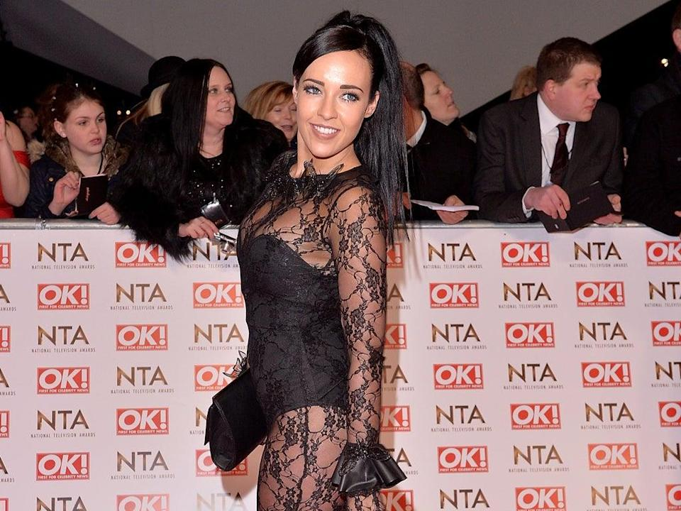 Stephanie Davis at the National Television Awards in 2015 (Getty Images)